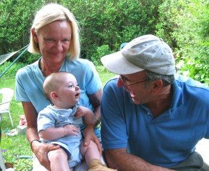 Laughing with Great Aunt Susan and Uncle Bob